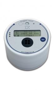 registrador de datos ruggedVisual con sensores para humedad relativa, temperatura y co2 con pantalla