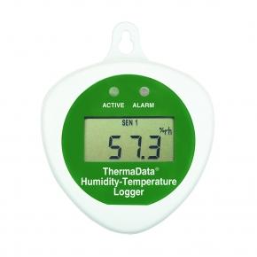Data Logger de temperatura y Humedad Relativa HTDcon display y con sensor interno
