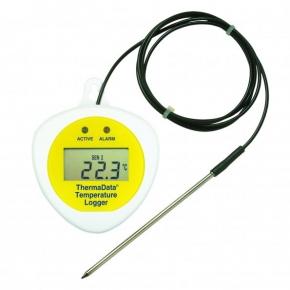 Registrador de temperatura TDF con display con sensor externo
