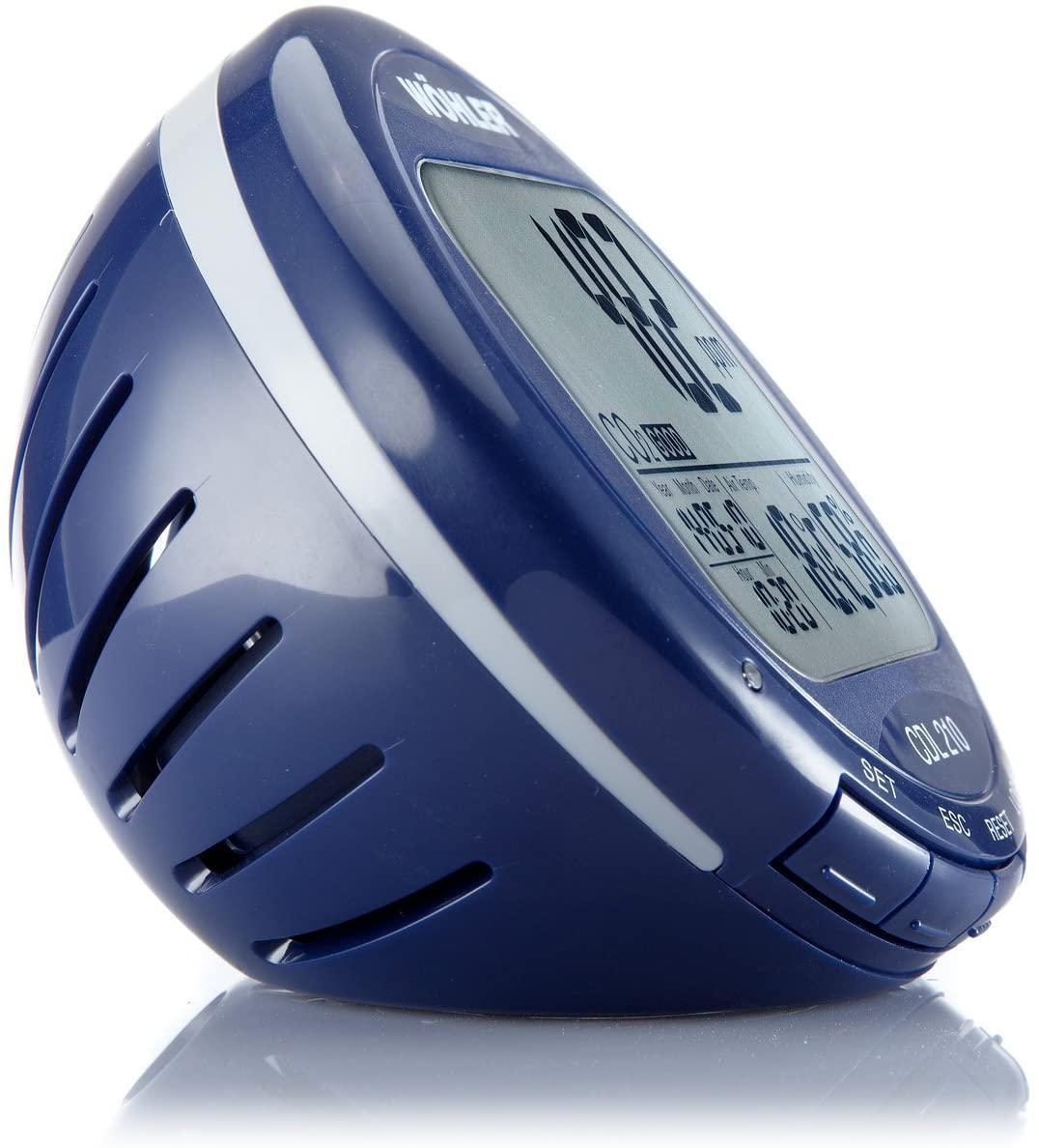 Indicador de la calidad del aire interior (IAQ) MFCDL-110  con alarmas Wöhler.