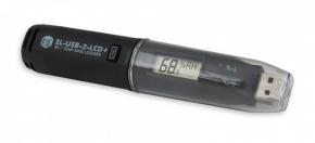 Data logger USB de temperatura y humedad relativa CON DISPLAY Y SOFTWARE INCLUIDO en inglés