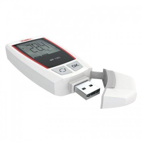 data logger de temperatura con gran display y software gratuito en español
