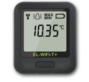Registrador de temperatura con sensor interno por WIFI  de alta precisión (+-0,2 ºC). Rango: -20 a 60°C; . Software gratuito en inglés EL-WIFI-WIN.