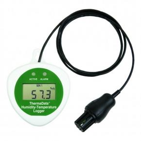 Data Logger de temperatura y Humedad Relativa HTDFcon display y con sensor externo